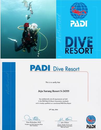 Jeju Sarang Pension and PADI Dive